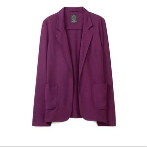Aritzia Talula Burgundy Purple Kent Blazer